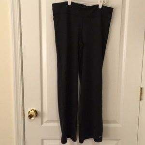 Perite large black yoga pants NWOT